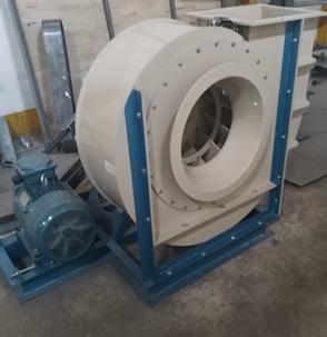 Quạt Ly Tâm Bằng Nhựa PVC Công Suất: 1.5 Kw- 37 Kw